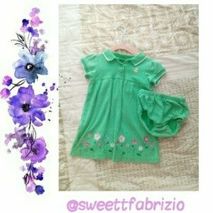 🔸Carter's🔸 Baby Girl Dress with Bloomers
